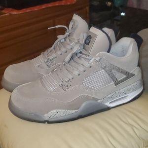 "Nike Air Jordan 4 Retro ""Georgetown"" size 13"